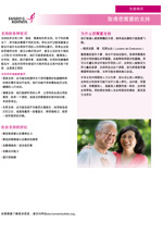 Breast Health Facts for Life - Getting Support You Need in Chinese