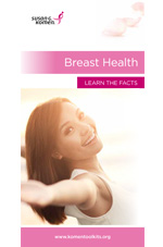 Breast Health Learn the Facts Brochure